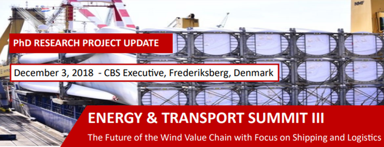 ENERGY & TRANSPORT SUMMIT III